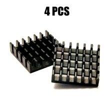 4PCS Kühlkörper Kühlkörper Kühler Kühlung Kühler für Grafikkarte Elektronische Chip Motherboard RC Drone FPV Teile