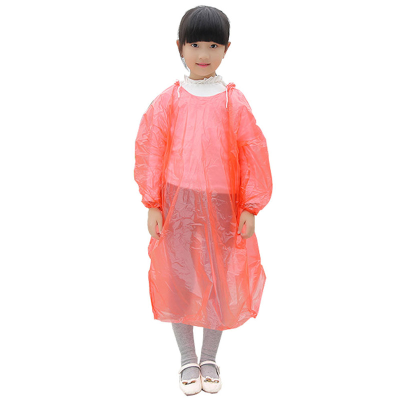 GIFT 1pc Disposable Children Kids Emergency Waterproof Rain Coat Poncho Hiking Camping Hood wholesale free shipping #10