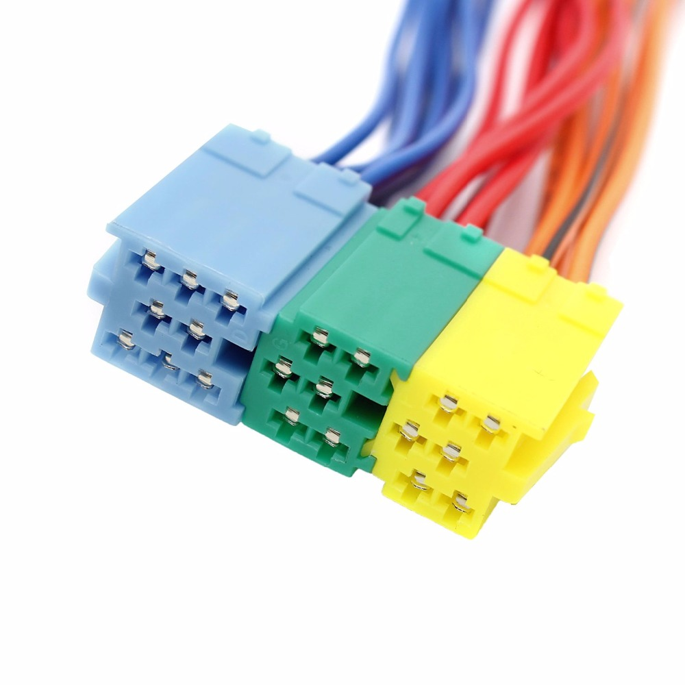 Biurlink Mini ISO 20Pin Radio Extension Wiring Harness Convert Cable ...
