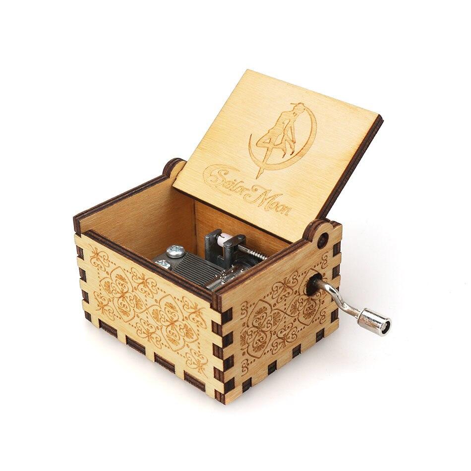 Античная Деревянная рукоятка новая резная королева музыкальная шкатулка Рождественский подарок на день рождения вечерние украшения