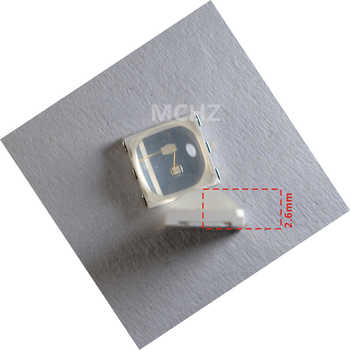 60ps a lot Nail Lamp Bead 1W UV LED SMD5054 5051 5050 UV LED Lamp 365+395NM LED Diodes For Nail SUN Machine For DIY