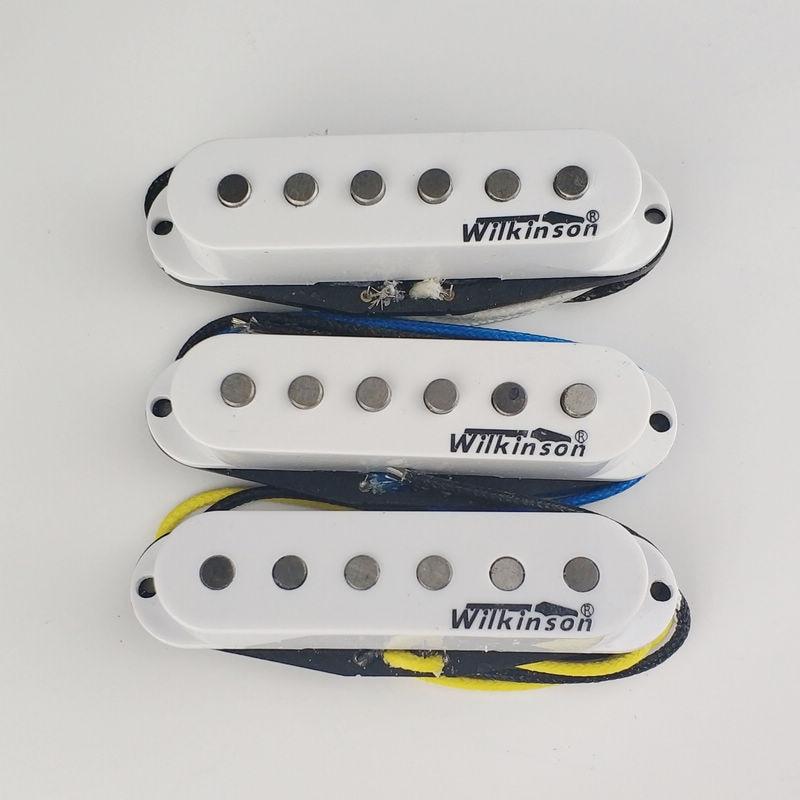Wilkinson Premium 60's WVS Alnico V Single Coil Guitar Pickups White lee wilkinson the venetian s proposal