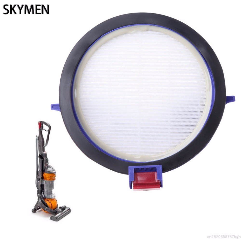 SKYMEN 11.2CM HEPA Post Motor Filter For Dyson DC25 Ball Vacuum Cleaner Hoover Replacement 2pcs dyson dc41 post motor hepa filter replacement for dyson dc41 dc65 cyclone vacuum cleaners replace part 920769 01