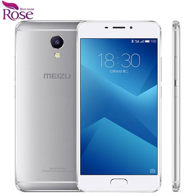 "Original Meizu M5 Note Helio P10 Octa Core 3GB RAM 16GB ROM Fingerprint ID Mobile Phone 5.5"" 13.0MP 4000mAh"