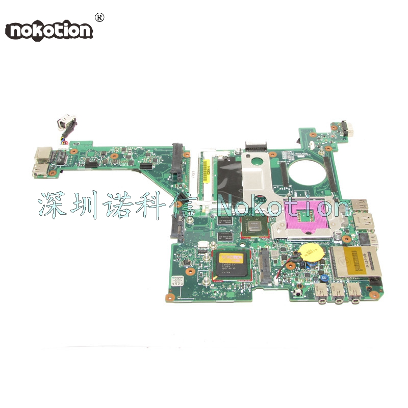 NOKOTION Laptop Motherboard For HP DV3000 DV3500 496097-001 DDR2 PM45 MainBoard full testNOKOTION Laptop Motherboard For HP DV3000 DV3500 496097-001 DDR2 PM45 MainBoard full test
