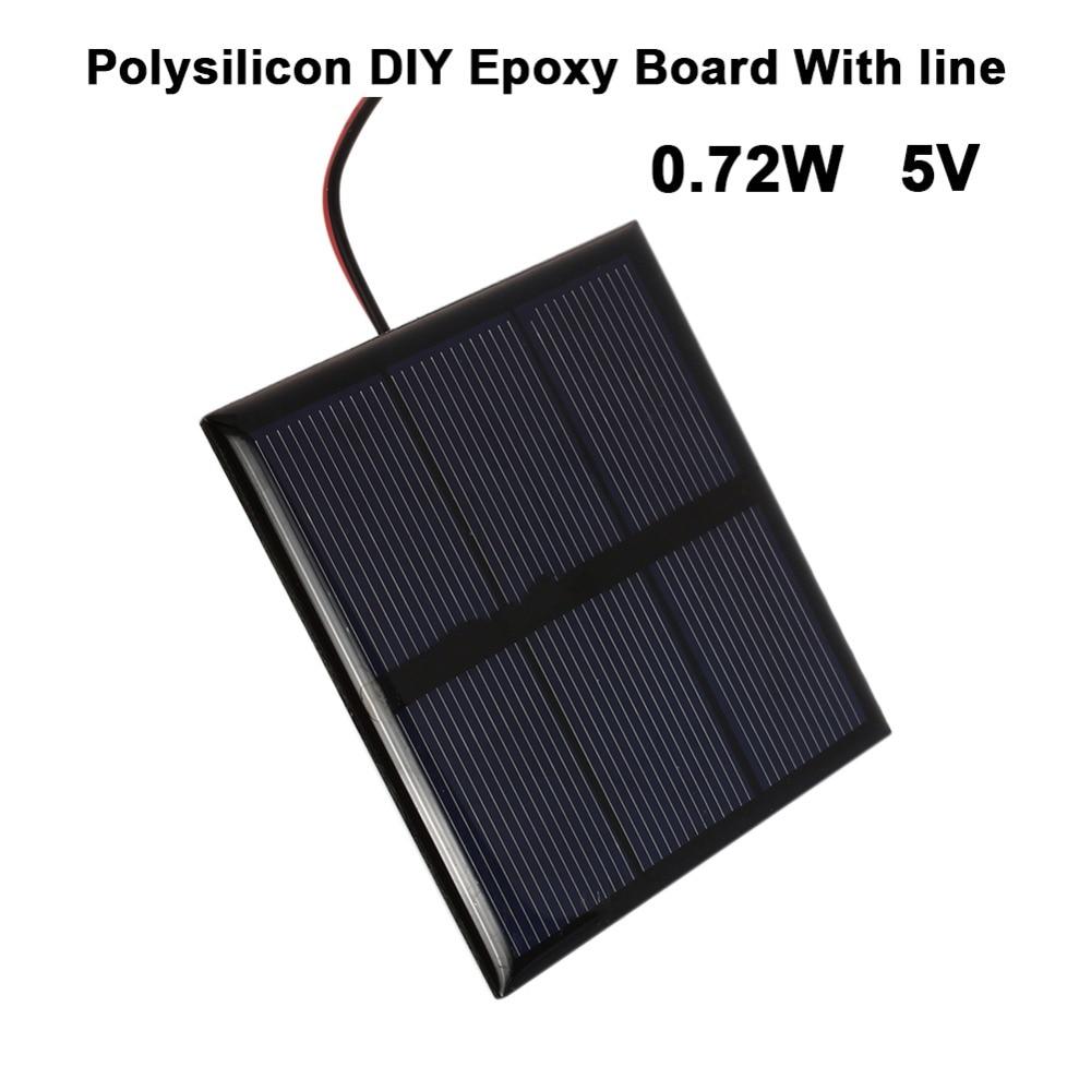 0 72w 5v Mini Portable Polycrystalline Solar Panel Cell