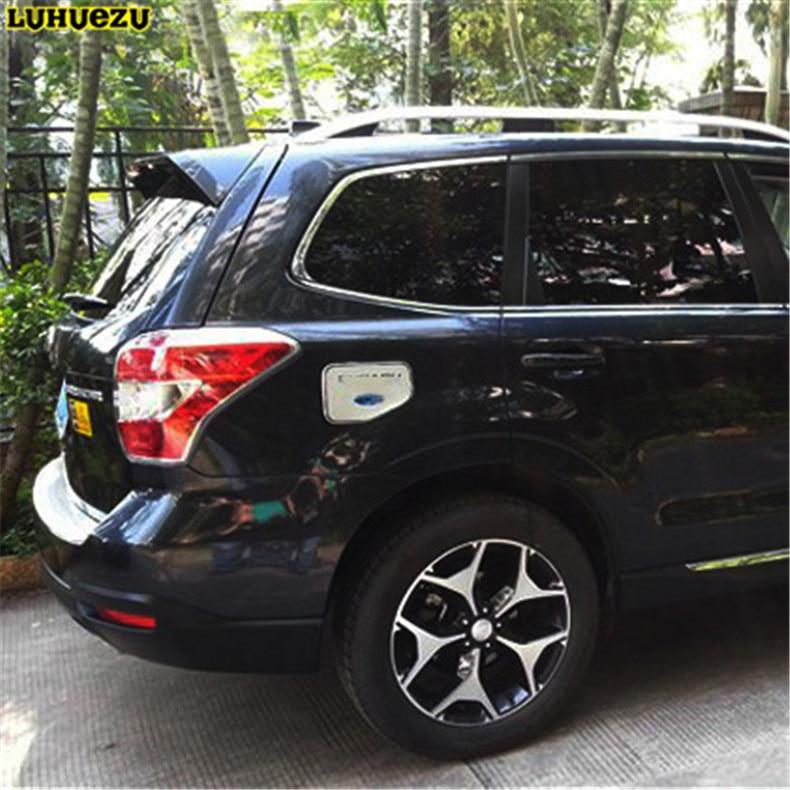 Luhuezu ABS Verchromte Gasabdeckung Fule Tankabdeckung Für Subaru - Autoteile - Foto 1