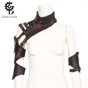 GearDuke Brown PU Leather Changeable Sle