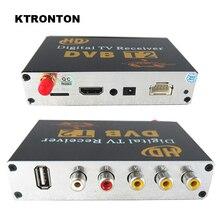 Новинка! 20-60 км/ч Автомобильный мобильный HD DVB-T2 цифровой ТВ приемник коробка с MPEG-4/H.264, HDMI, Поддержка PVR и USB мультимедийного воспроизведения