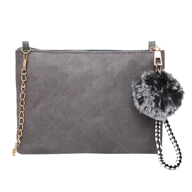 Female Handbag Clutch-Bag Shoulder-Bags Enveloped-Shaped Messenger Suede Small Big-Sale