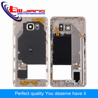 Liujiang For Samsung Note5 Note 5 N920 Middle Frame Mid Bezel Metal Frame Housing Chassis With