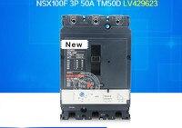 100% ano de garantia Original Novo Na caixa 1 NSX100F 3P 50A TM50D LV429623