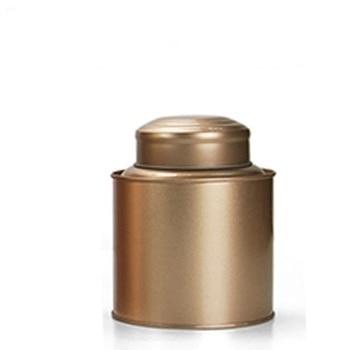 Dia.11.2*13.8cm New arrival  Round  tea tin box candy storage box