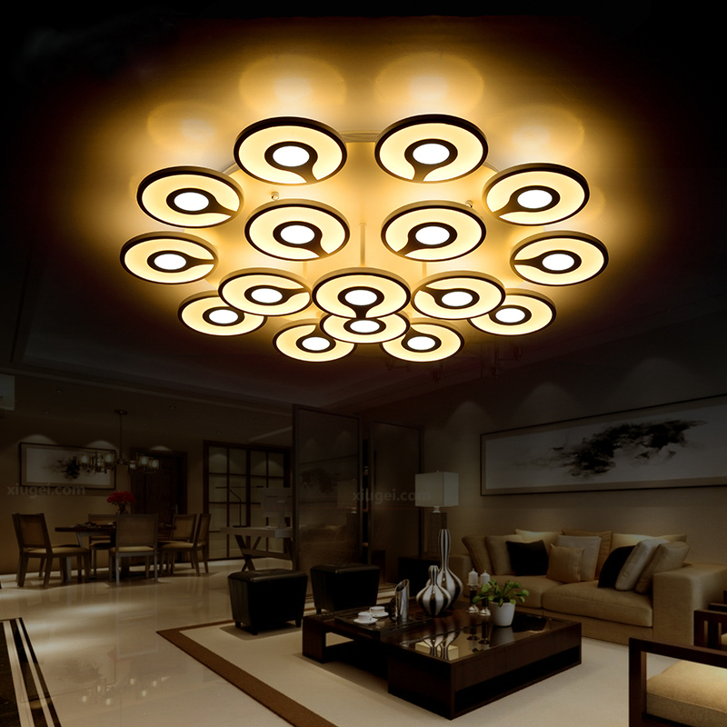 110v 220v Minimalist Modern Arcylic Ceiling Light Home Lighting Sala Led Lamp Ceiling Lamba Led Light Fixtures Candeeiro Tecto