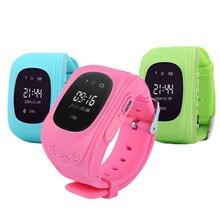 Продажа Смарт-часы Для детей Умные часы точной трекер SOS аварийного анти-потерянный Смарт наручные часы для Android подарочная коробка