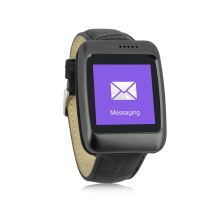 Fashion Leather Wrist Smart Watch N4 Bluetooth 4 0 font b Smartwatches b font with Pedometer