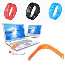 font b Health b font 3D Smart Band Wristband W6 Sport Watch Smart Bracelet Wristwatch