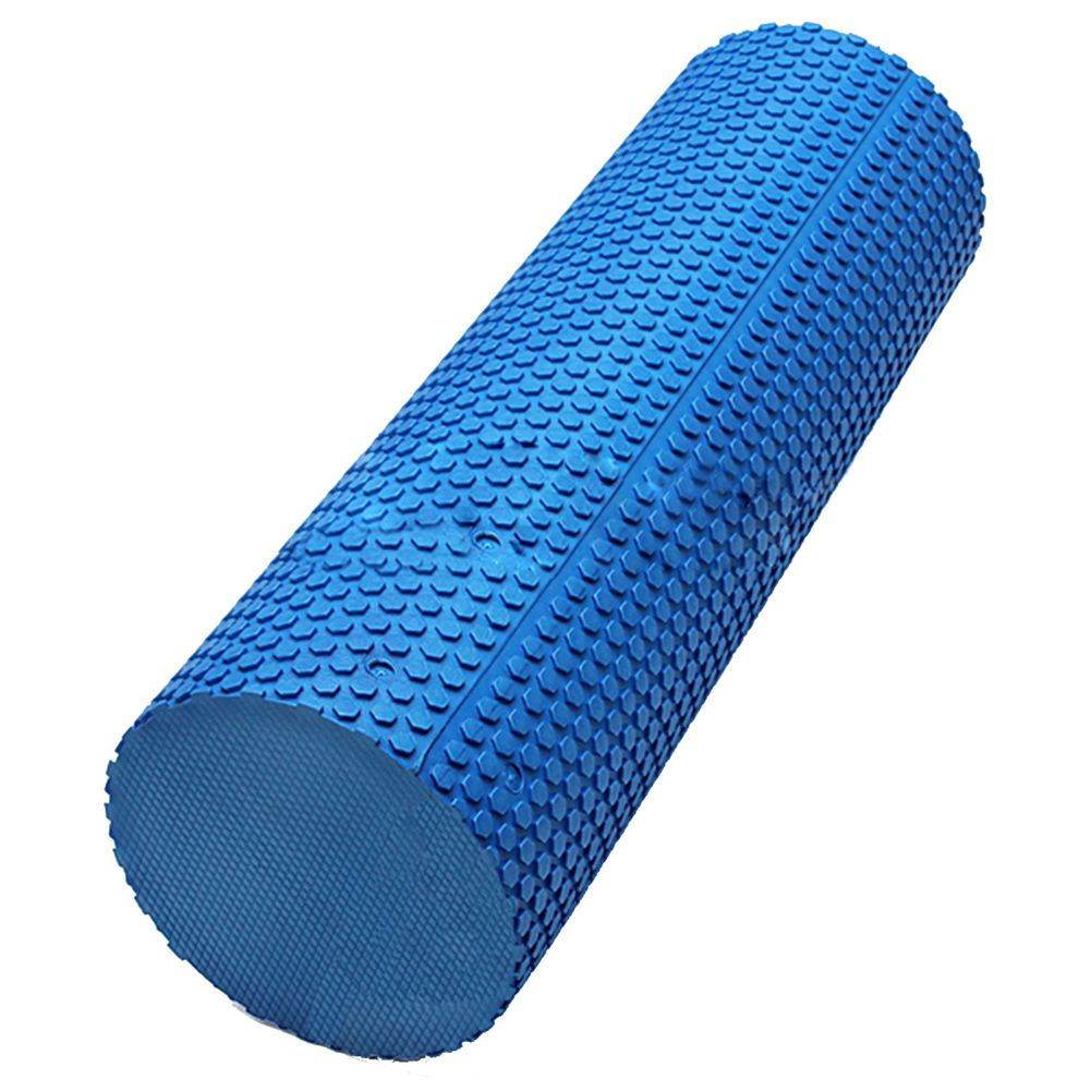 Smooth Floating-Point Yoga Pilates Fitness Gym Exercise Foam Roller EVA Physio