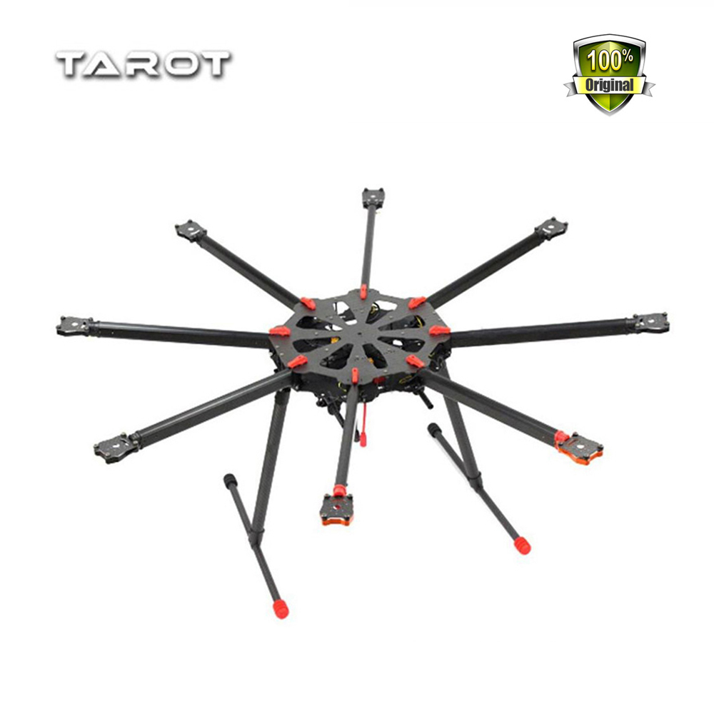 Tarot TL8X000 X8 8 Aixs Umbrella Type Folding Multicopter Octocopter Aerial Aircraft Drone UAV with Retractable Landing Gear zerotech aerial drone paddle protection aircraft blade guard for dobby uav