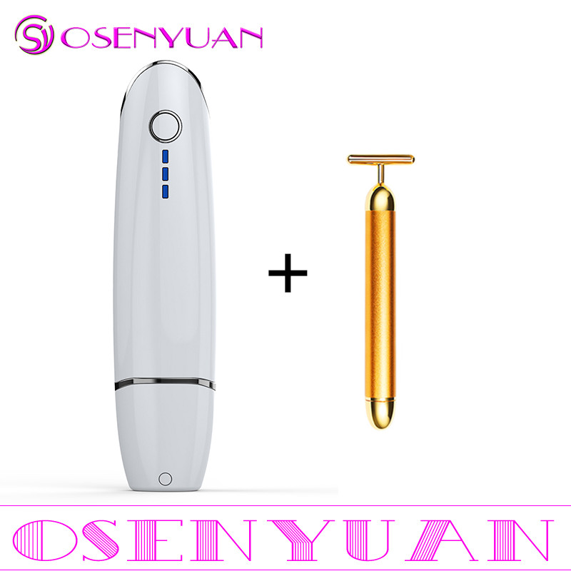 2020 Huidverzorging Spa Beauty beauty V curing Mini Hifu Hoge Intensiteit Gericht Facial Lifting Machine Face Lift RF LED anti Rimpel-in Aangedreven Gezichtsreinigings Apparaten van Huishoudelijk Apparatuur op  Groep 2