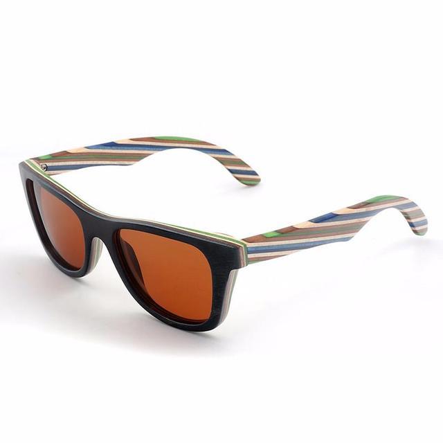 Gafas de sol polarizadas madera color