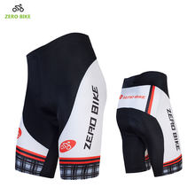 ZEROBIKE Hot Sales Men's Cycling Shorts Breathable 4D GEL Padded MTB Bike Tight Shorts Bermuda ciclismo M-XXL(China)