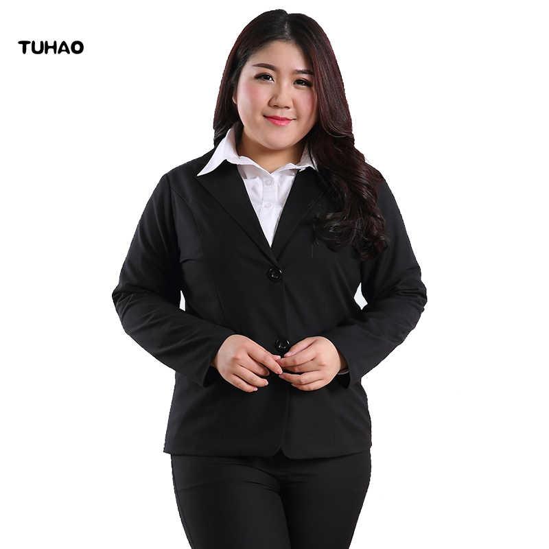 6a18b33a457 TUHAO Brand PLUS SIZE 10xl 8XL 6XL 5XL 4XL Jacket Women 2018 spring Autumn  Long Sleeve