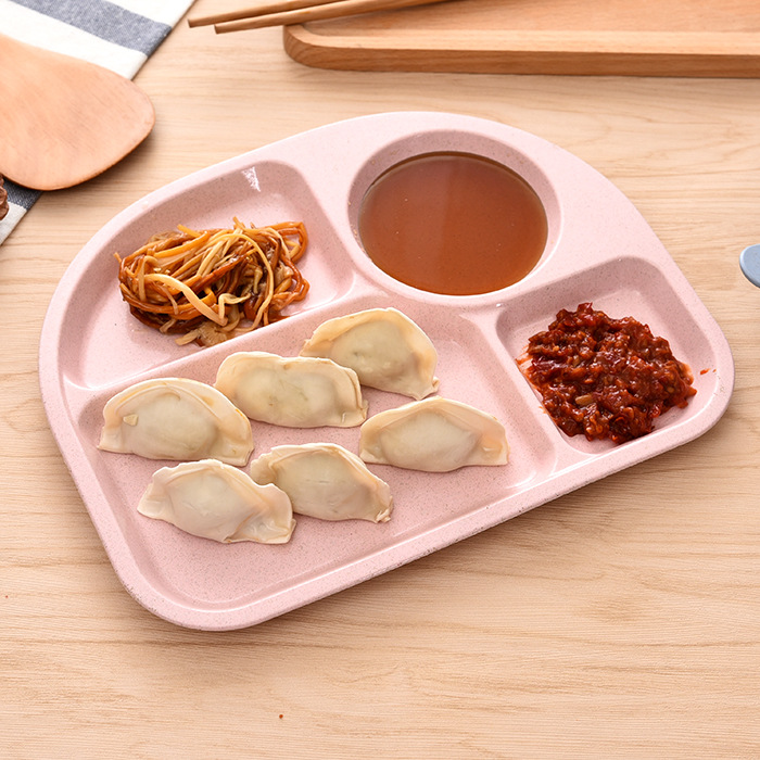 Baby Tableware Learning Dishes Training Plate Kids Dish Safe Children Feeding Tableware Set High Quality -15