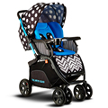 New Design Colourful Baby Stroller High Landscape Shockproof Widen Seat Baby Car Foldable Prams And Pushchairs C01