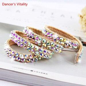 Image 1 - חדש סגנון בטן ריקוד סקסי האפט שרוולים בגדים העליונים + חצאית 2 pcs חליפת ריקודי בטן ריקוד סט בנות ריקוד סט