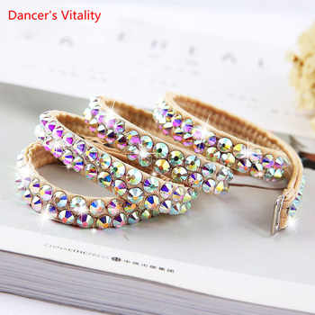For Women Waist Belts For Belly Dance Belly Dance Accessories Colorful Diamond Chain Jewelry Chain - DISCOUNT ITEM  10% OFF All Category