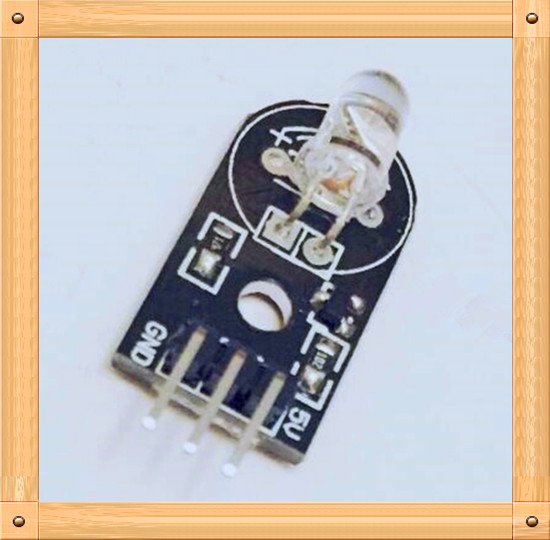 Free Shipping!!! 5pcs Infrared emission sensor module / electronic building blocks / Smart Robot Car