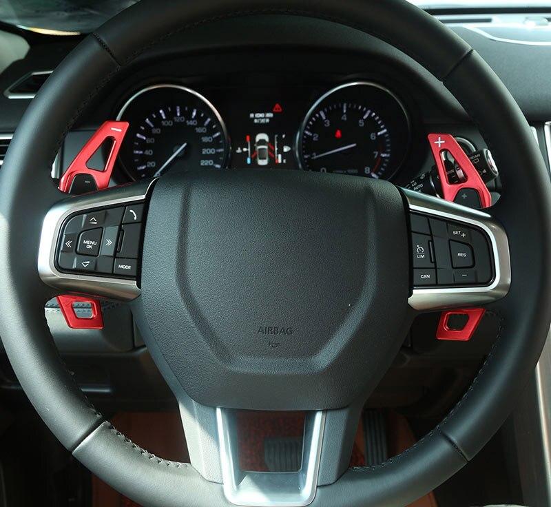 Pour Land Range Rover Evoque/Sport Discovery 4 pour Jaguar XE/XF/XJL/f-pace volant changement de vitesse palettes aluminium Top qualité