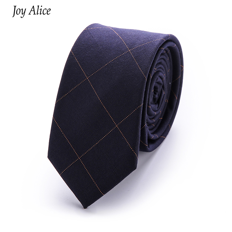 Moda pamuk 6 cm erkek Renkli Kravat Örme Örme Bağları Işlemeli - Elbise aksesuarları - Fotoğraf 6