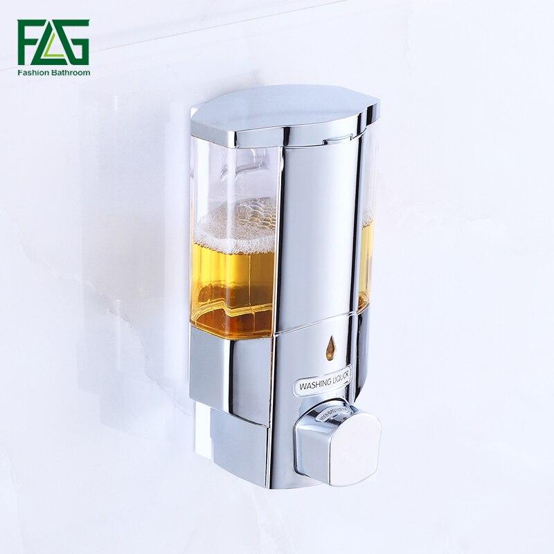 FLG Seifenspender Seifenspender Wand küche Bad Flasche Kunststoff ...