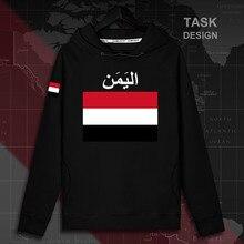 Jemen Yemeni Arabi YEM Islam mens hoodie truien hoodies top mannen sweater streetwear kleding trainingspak natie vlag Lente 02