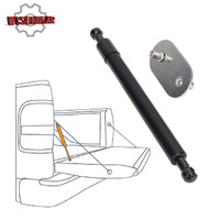 WISENGEAR Tailgate Assist Shock Buffer down Slow Drop Rate Telescopic Rod for Ford F150 F 150 2004 2014 Truck Pickup CEK139