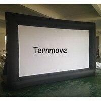 Outdoor kino bildschirm aufblasbare leinwand  aufblasbare TV für verkauf Open Air Kino Heim Projektor Bildschirm|Aufblasbare Hüpfburg|   -