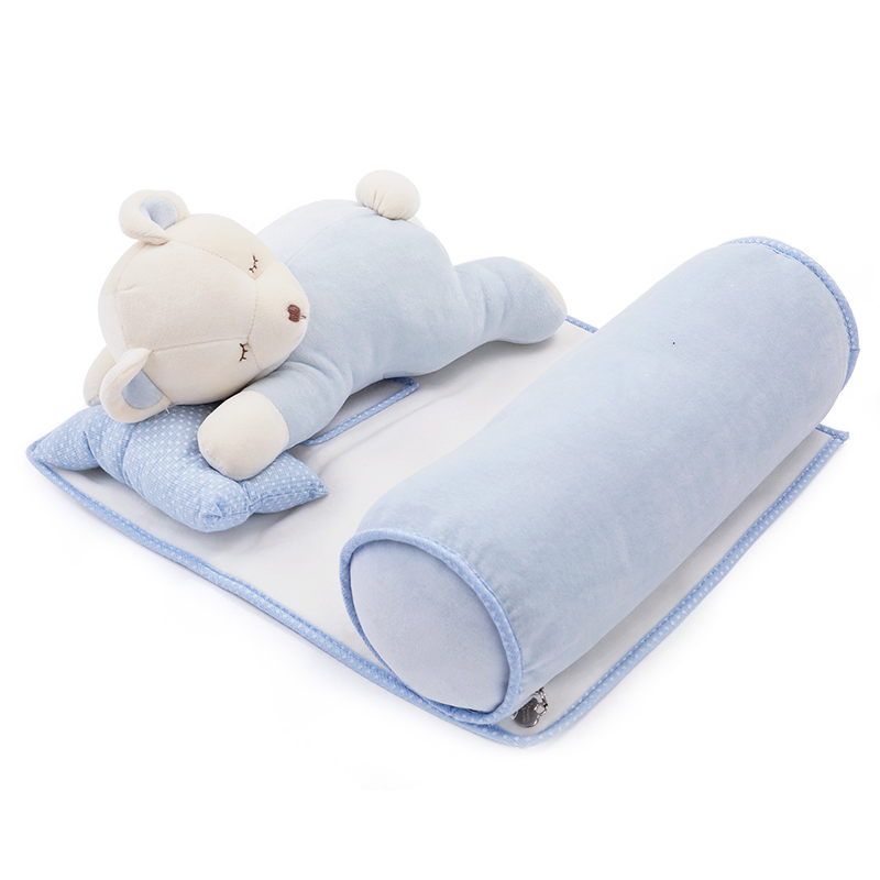 0-3 years Newborn infant pillow Brand multifunctional neck protection baby bedding set sleeping pillow cartoon baby toys H9006