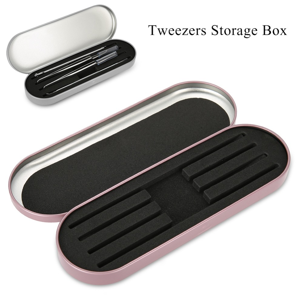 Professional Storage Box For Eyelash Extension Tweezers Organizer Case Eyelashes Eyeliner Pencil Case Organizer MakeupTools