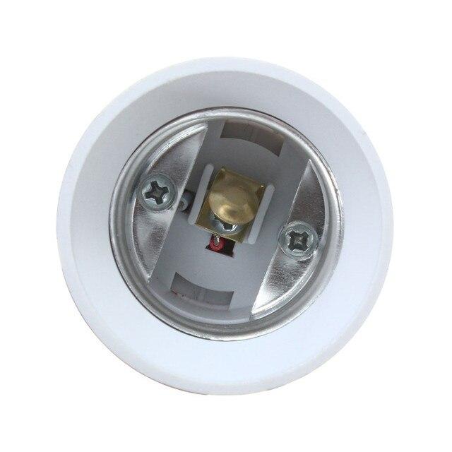 Jiguoor E27 Işık lamba ampulü Tutucu Esnek Uzatma Dönüştürücü Anahtarı adaptör soketi AB Tak