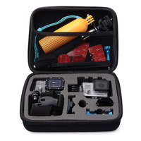Black Medium Size Travel Storage Collection Bag Case For GoPro Hero 4 3 3 2 1
