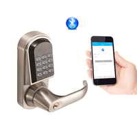 Jcsmarts Bluetooth Lock Smart Electronic Door Lock Cell Phone APP, Code, Keys Unlock For Home, Hotel ,Apartment, Office etc