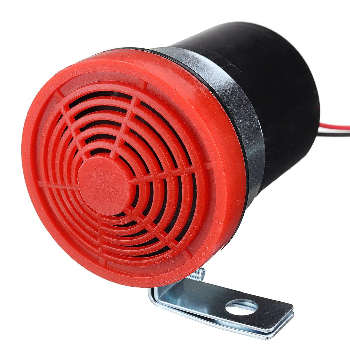 12V 24V Car Vehicle Reversing Horn Warning Speaker with Fixed Bracket 105DB 4Ω