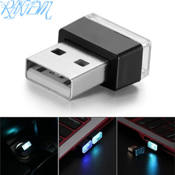 Car Styling USB Atmosphere LED Lamp Light For BMW 1 3 4 5 7 Series X1 X3 X4 X5 X6 E60 E90 F15 F30 F35 image
