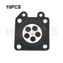 10PCS Carburetor Metering Diaphragm For Walbro 95-526,95-526-9,95-526-9-8