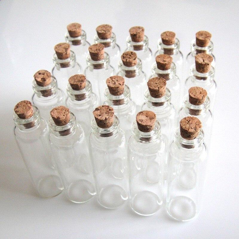 Haus & Garten Flight Tracker 20 Stücke 16x50mm 5 Ml Wunsch Flaschen Tiny Kleine Leere Klarglas Cork Flaschen Fläschchen Für Hochzeit Urlaub Dekoration Weihnachtsgeschenke Geschickte Herstellung