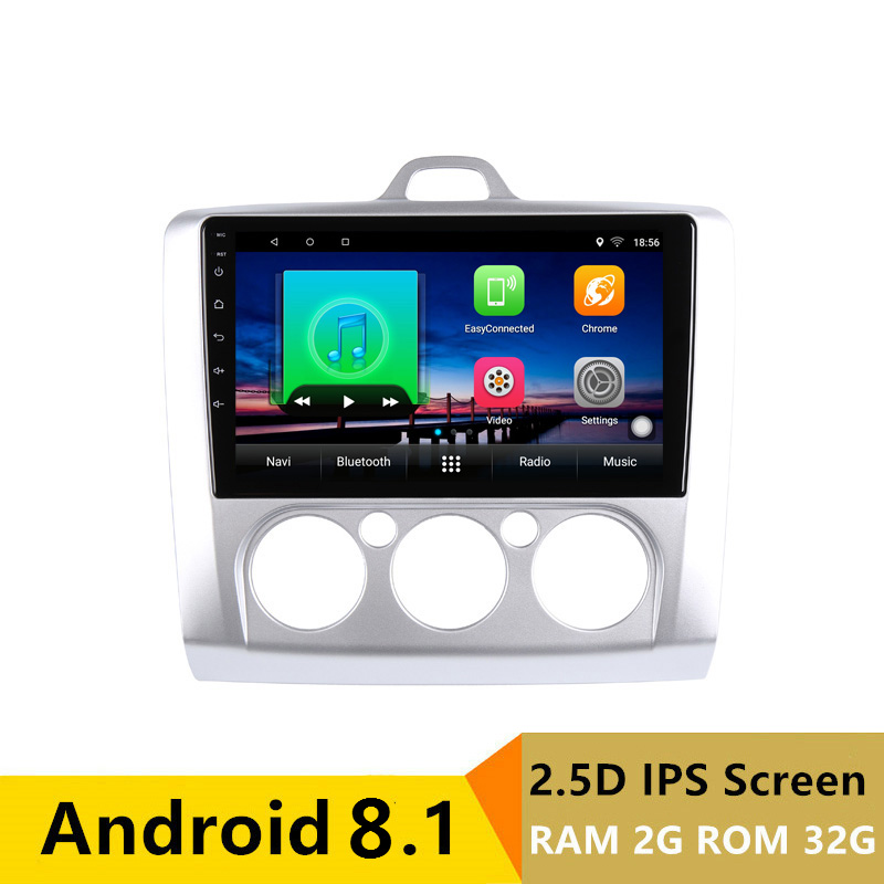"9"" 2G RAM 32G ROM Android Car DVD Video Player GPS For ford focus 2 3 2006 2007 2008 2009 2010 2011 audio car radio stereo"