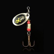WALK FISH 3PCS 6cm 2.2g Metal Carp Fishing Lure Vibration Fishing Hard Bait Pesca Spinner Spoon with Hook Fishing Tackle