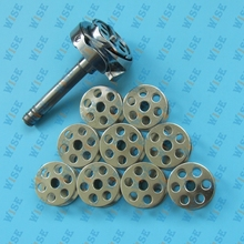 ROTARY HOOK & BOBBIN CASE & BOBBINS 10 PCS  FOR JUKI 563 1508 1510 1560 ARTISAN 4400RB
